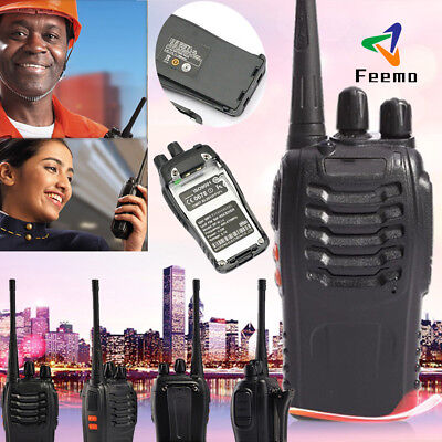 Baofeng BF-888S Walkie Talkie Radio Interphone UHF 400~470MHz 16CH 5W EU Plug