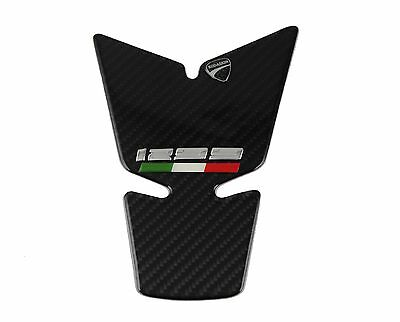Motor Tank Pad Decal 3d Sticker Carbon Protector Emblem For Ducati 1299 PANIGALE