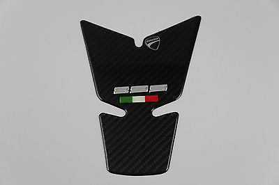 Motor Tank Pad Decal 3d Sticker Carbon Protector Emblem For Ducati 899 PANIGALE