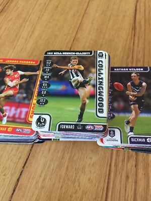 2018 Teamcoach Afl Common Cards (6 For $1.00)