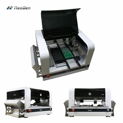 Visual Pick and place smt machine NeoDen4 with 21 feeders surface chip mounter J