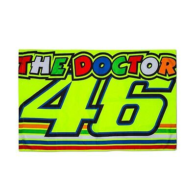 VR|46 Valentino Rossi - Stripes - THE DOCTOR - Fan Flagge - 140 x 90 cm *