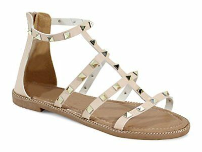 beige 36 EU By Shoes Sandali Donna Scarpe 3664644056143 9bp