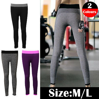 UK Women Yoga Ladies Pants Fitness Leggings Running Gym Exercise Sports Trousers