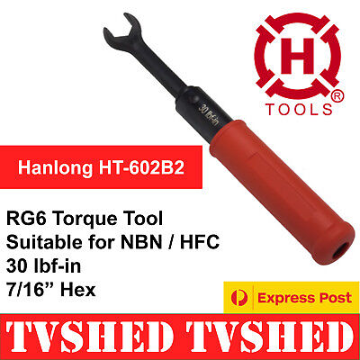 RG6 Torque Tool for NBN HFC Coaxial Cable F Type Connectors