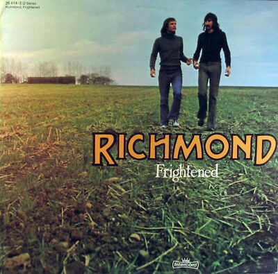 Richmond, Frightened. Vinyl LP