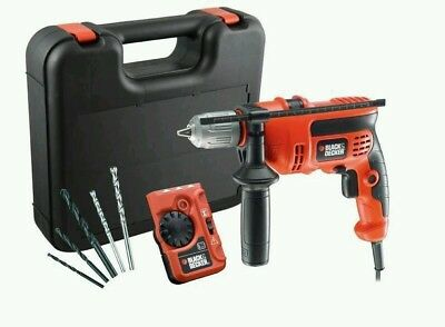 Details about  BLACK & DECKER VARIABLE SPEED 710W ELECTRIC 240V HAMMER DRILL DR