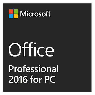 Ms Office 2016 Professional Plus 19 Rechnung Kein 365 Tage
