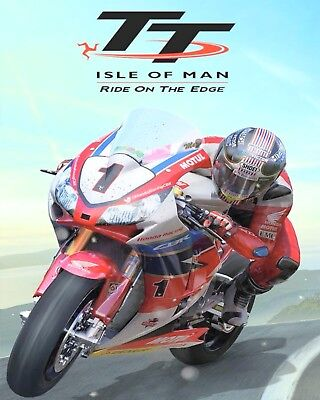 """10 x 8"""" ISLE OF MAN TT MOTORCYCLE MOTORBIKE METAL PLAQUE SIGN OTHERS LISTED N369"""