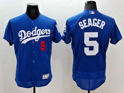 Corey Seager #5 Log Angeles Dodgers Flex Base MLB Jerseys (NWT)