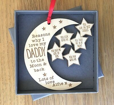 Personalised Fathers Day Gifts For Daddy Dad Grandad Grandpa Decoration Gifts