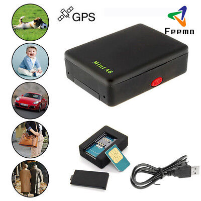 A8 Mini Time Car Kid&Pet GSM/GPRS/GPS Global Locator Real Tracking Tracker Braw