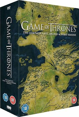 GAME OF THRONES Complete Series 1-3 DVD Box Set All Season 1 2 3 UK Rele New R2