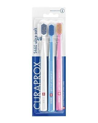 Curaprox CS5460 Ultra Soft Toothbrush 3 Pack - FREE DELIVERY