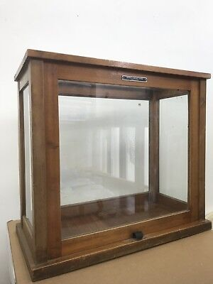 Vitrine Cabinet for display. Old school science lab - griffin and George ltd