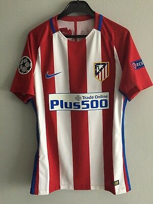 Maglia Griezmann Atletico Madrid 16/17 Match Worn Issued Champions League