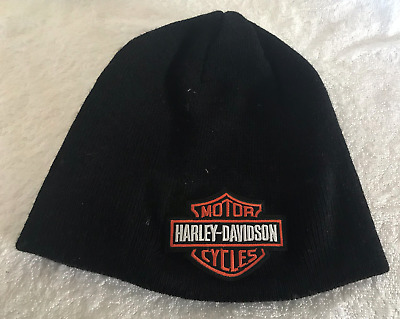 Harley Davidson beanie motorbike motorcycle Embroidered Patch