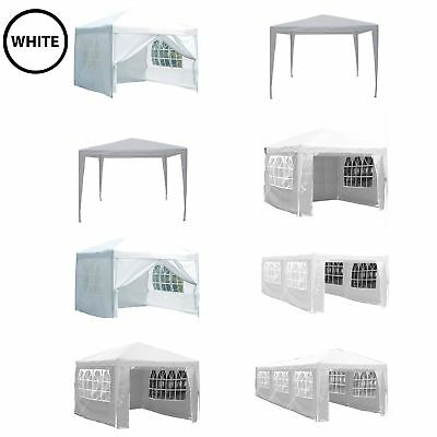 Gazebo Marquee Party Tent Waterproof Garden Patio PopUp or Standard Canopy White