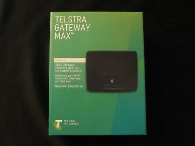 Telstra Gateway Max Modem. Unused, in as new condition.