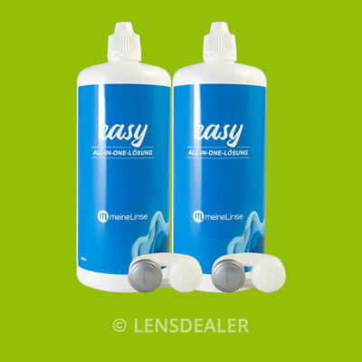»» OCULSOFT ® EASY ALL-IN-ONE LÖSUNG 2x380 ML KONTAKTLINSEN PFLEGEMITTEL ««