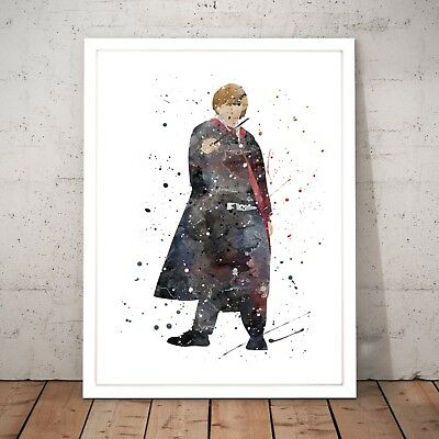 Harry Potter Ron Weasley Watercolour Nursery Decor Art Poster Print - A4 to A0