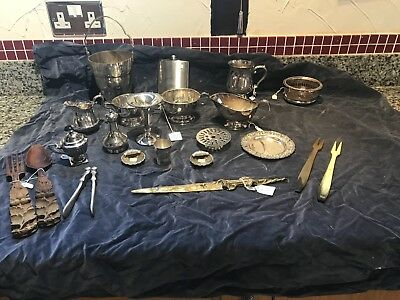 Silver Plated ESPN  And Other Collectables Items Bargain Job Lot
