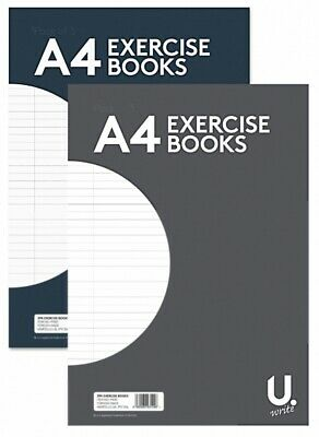 A4 A5  Pennine U.write - Exercise Books - 32 Pages - lined ruled ECONOMY book