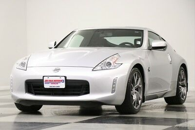 Nissan 370Z Z Sport Brilliant Silver Metallic Coupe Used Roadster Bluetooth USB Coupe Power Options 16 14 17 2016 15 Automatic