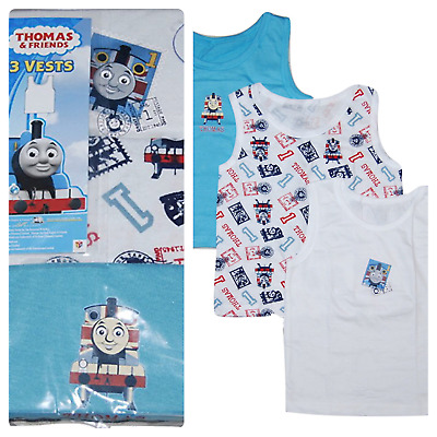 Thomas the Tank Engine Baby Boys Vest Underwear Pack of 3 Age 18/24 Months