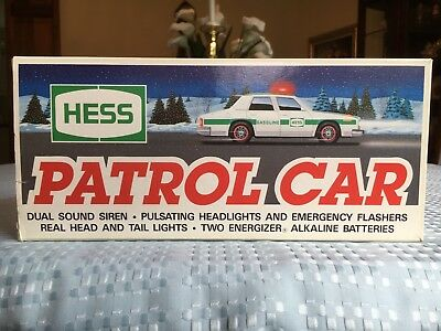 Hess Patrol Car 1993 (NIB) Hess Truck 1993 Mint In Box BRAND NEW RARE