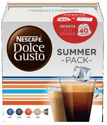 Dolce Gusto pack40 capsulas-summerpack