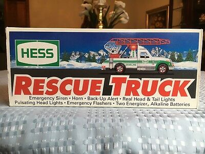 1994 Hess Rescue Truck Mint In Box Nib Brand New Rare