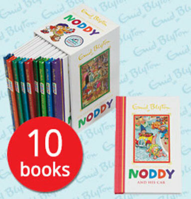 Noddy Enid Blyton Collection - 10 Books