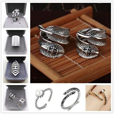 Wholesale Fashion Nail Opening Adjustable Size Rings Modern Jewelry Gift Ring
