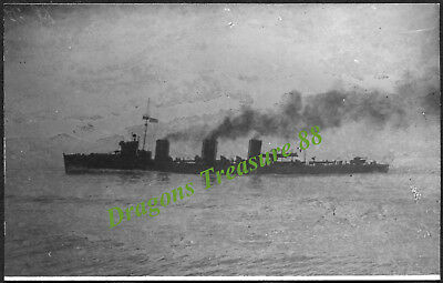 H.M.S. COSSACK, Postcard, Royal Navy Tribal-class Destroyer,1907 - 1919