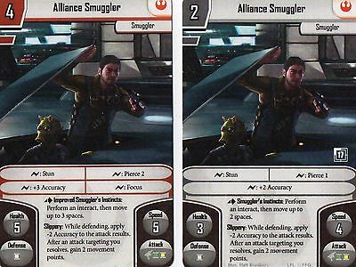 Imperial Assault - FFG Promo Alliance Smuggler Alt Alternate Art Card (2 sided)