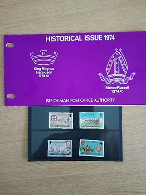 (X)....1974_Isle Of Man Presentation Pack - Historical Issue 1974