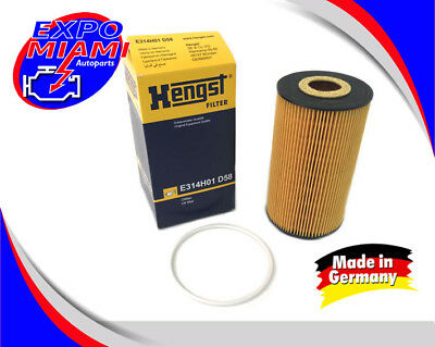 Hengst W12 Oil Filter For Bentley Continental GT Coupe GTC Flying Spur
