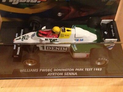 FLY SLOT Williams FW08C  Ayrton Senna Donington Park Test 83', Art W40101