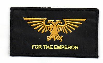 Parche Warhammer 40K For The Emperor   10X5,5 Cms Patch