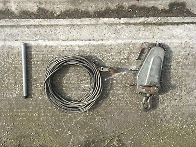 Tirfor winch 1.6 ton and cable
