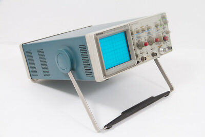 Tektronix 2215 Oscilloscope with service and instruction manuals and other parts