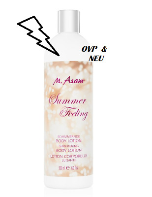 M.ASAM - Summer Feeling Shimmering Bodylotion - OVP/NEU
