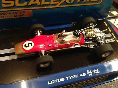 Scalextric Lotus 49 #5 Limited Edition 112/1500  MB Graham Hill , C2964, Neu