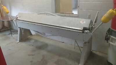 Chicago Dreis & Krump Model 818 Steel Bending Sheet Metal Brake 8' x 18 Gauge