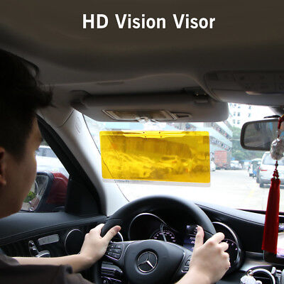 Tac Visor Day Night Anti Glare Visor Driving HD Vision Glasses Sun Visor Clip