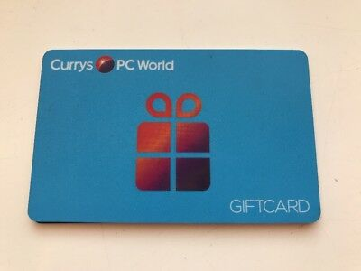 Currys PC World £100 Gift Card Voucher 1 Year Remaining