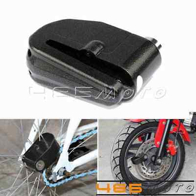 Motorcycle Black Disc Lock Loud Wheel Alarm 6mm Anti-Theft Security For Suzuki