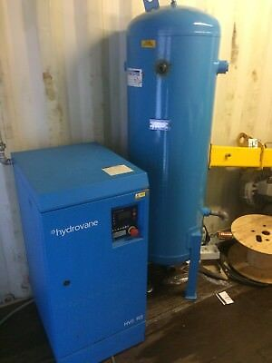 Hydrovane HV07RS Compressor 7.5Kw With Pressure Tank