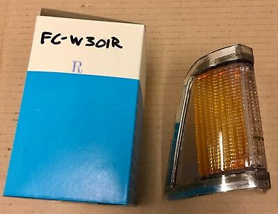 FORD Cortina 71-73, FRONT INDICATOR LENSE, Right, NEW aftermarket parts